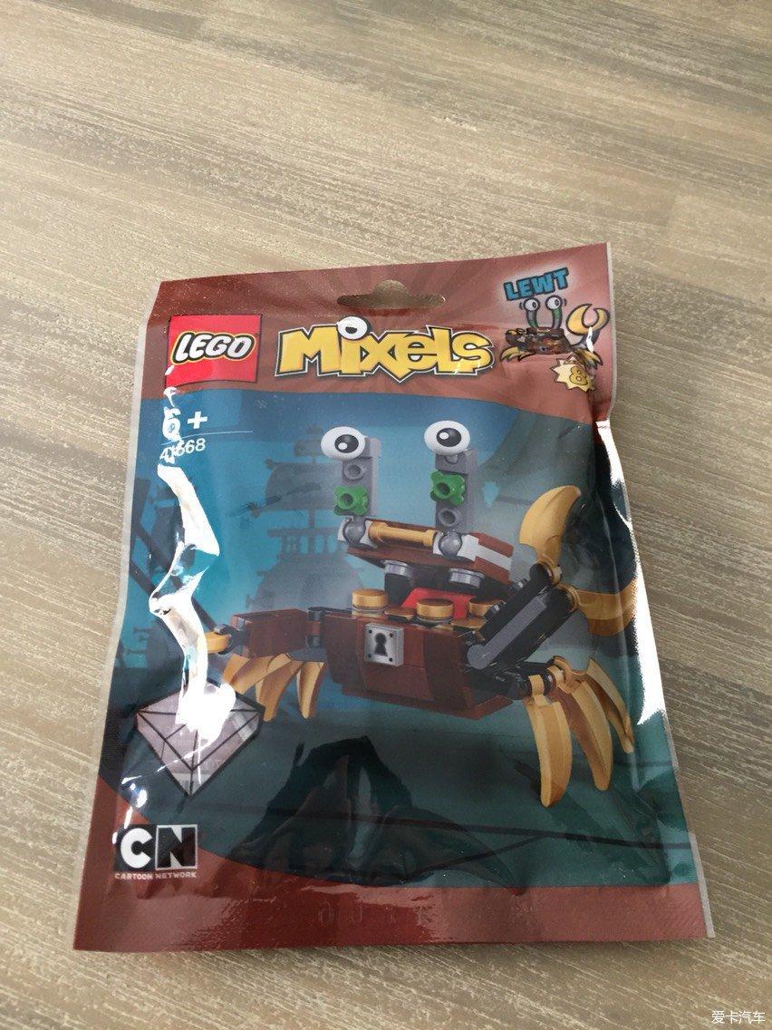 LEGO41568小图纸_乐高世界_XCAR爱卡汽开关柜螃蟹kp图片