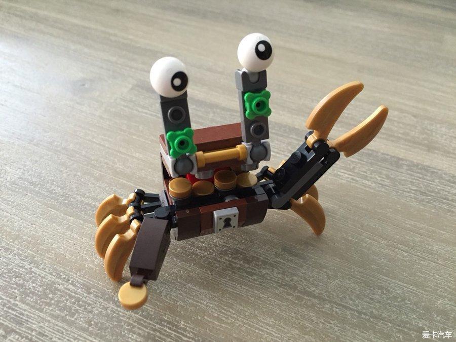 LEGO41568小螃蟹_乐高世界_XCAR爱卡汽风家居设计图纸北欧图片