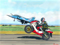浪漫与激情:法国著名航空绘画家雷蒙・罗格的航空画作欣赏