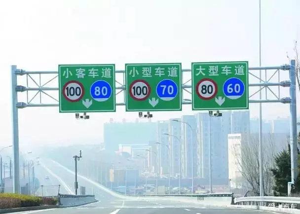 这些交通标志,如果你分不清楚,那就只能被罚款 扣分了