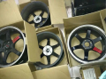 [北京]出售台产TE37轮毂+胎