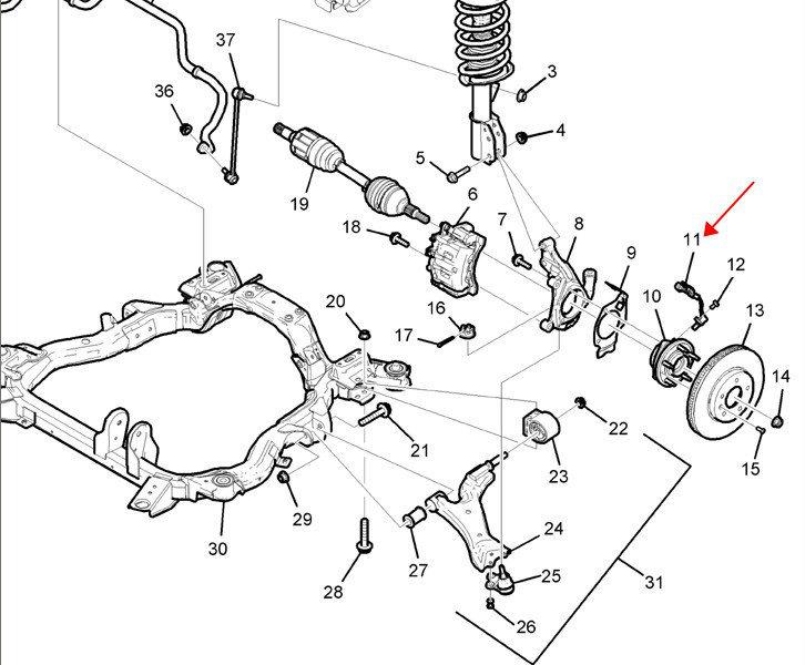 科帕奇的abs轮速传感器是易损件,淘宝水很深,懂的聊聊