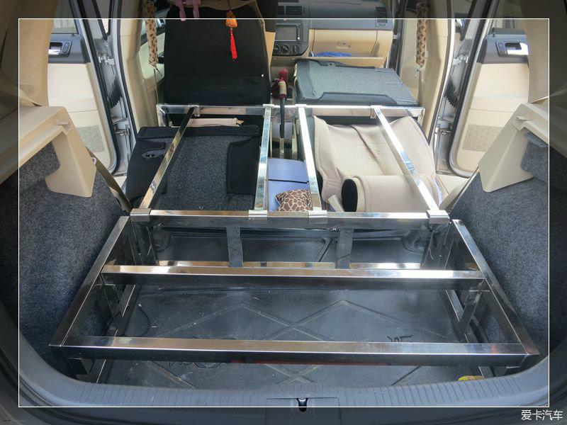 【最美驾期】我的床车图纸回顾装备【一】【另通常上表示螺旋如何焊自驾图片