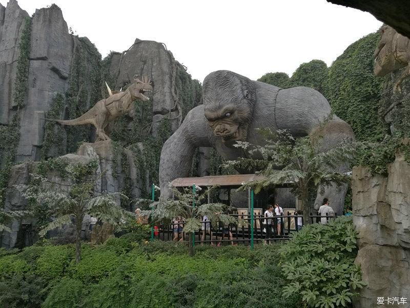 游玩常州恐龙园