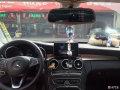 奔驰GLK安装仙人指路智能后视镜无损完美安装