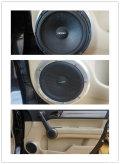 本田CR-V改装德国伊顿音响与蟒蛇线材享受挚爱音乐