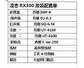 凌志RX300芬朗汽车音响,广州车元素雷克萨斯RX音响改装