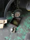 换了前刹车卡钳,轮胎没索赔成功