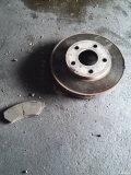 换刹车盘、片(打孔划线盘)