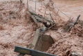 川藏公路芒康段,133处公路被冲毁抢通时间无法预计(最新)
