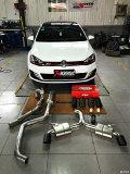 大白GTI7改装第一篇--升级世界顶尖排气天蝎AK排气