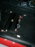 大众POLO改装美国JBL音响卡莱功放推动低音倒模