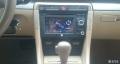 07款奥迪A4B7加装德众尚杰车载导航作业