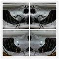 宝马3系四门引擎盖尾箱盖中道隔音解决共鸣噪音肇庆汽车音响改装