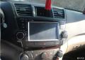 汉兰达升级先锋专车专用DVD导航一体机作业