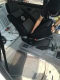 10款捷达改桑塔纳2000原厂真皮座椅作业
