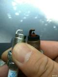 换了火花塞,顺便测了缸压。