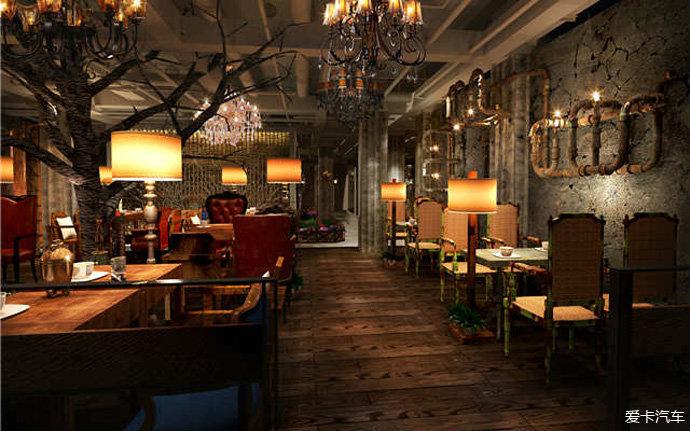 此外,还有一种咖啡店的装修风格,让人们眼前大为一亮——工业风咖啡店