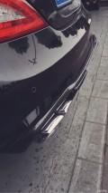 奔驰CLS350更换台湾品牌排气