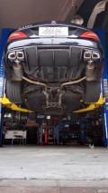 奔驰CLS350排气改造