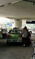 二流机场遭遇出租拒载