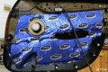 温州宝马X1德国海螺7系三分频7.16i三路音响改装
