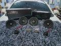 德州海马S5音响改装以色列摩雷音响/爱威同轴/城市车界音响