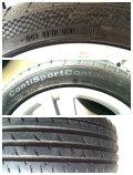 进口尚酷R-line轮毂带胎四个