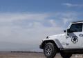 白色牧马人撒哈拉3.0提车作业