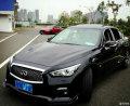 买车很难选―――紫玉黑Q50运动版迟到的提车作业