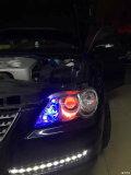 汽车改灯动力升级双光透镜老锐志大灯改装奥迪Q5透镜