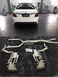 奔驰C63W205改装akrapovic排气案例