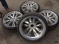 宝马3系原厂19寸锻造全新轮毂轮胎