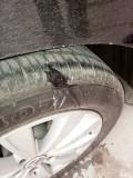 轮胎扎钉了还能用吗?