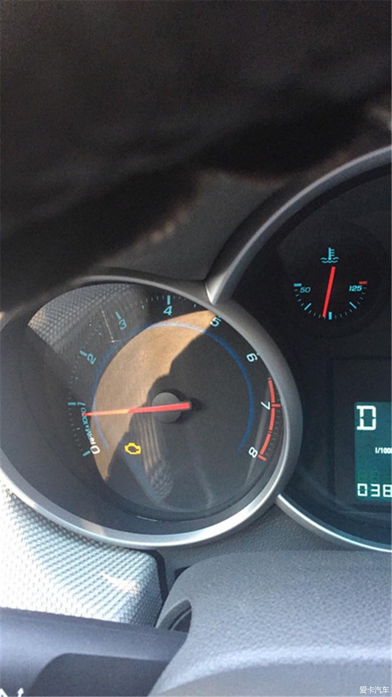 加了燃油添加剂,发动机故障灯亮!_科鲁兹论坛_xcar