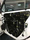 新塘汽车音响改装-别克凯越升级中道隔音-新塘城市猎人