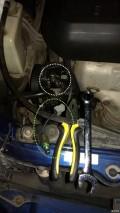 (7楼搞定:助力油压传感器,38元搞定)骏捷发动机盖左下漏油