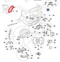 我发个加装原装 备胎(小书包)数据,实物图与改装思路
