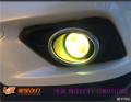太原丽星改灯奇骏雾灯改装双光透镜黄金眼改装后尾灯