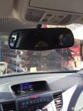 改装后视镜行车记录仪一体机12款本田CRV挑战自我