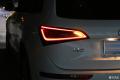 奥迪Q5闪亮的后尾灯最新高技能