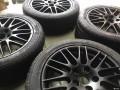 保时捷卡宴RS原厂20寸全新拆车轮毂轮胎一套,99新
