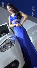 深圳车展上一车模,大家看看,喜欢吗?