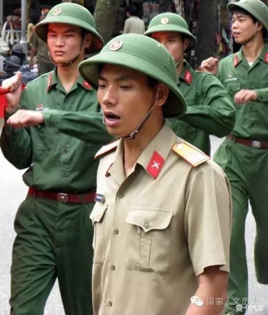 越南士兵头戴的绿头盔从何而来?_长安CS35论