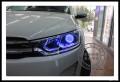 成都雪铁龙C3-XR改灯车灯改装原装Q5海拉双光透镜欧司朗