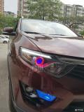 【广州炫澜车灯】东南DX7升级精刚海拉5双光透镜+精刚安定器