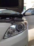 汽车改灯双光透镜氙气灯卡罗拉改装奥迪Q5双光透镜
