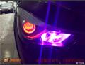 海马S5车灯改装海五透镜岩崎5500K灯泡奥兹姆安定器