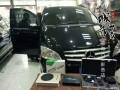 丹东盛海音改-奔驰唯雅诺升级日本山水-丹东专业汽车音响改装
