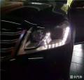 【邢台永诚专业改灯】迈腾升级海拉5透镜套装,车灯氙气灯大灯